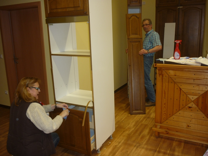 hubertus haus k che putzen. Black Bedroom Furniture Sets. Home Design Ideas